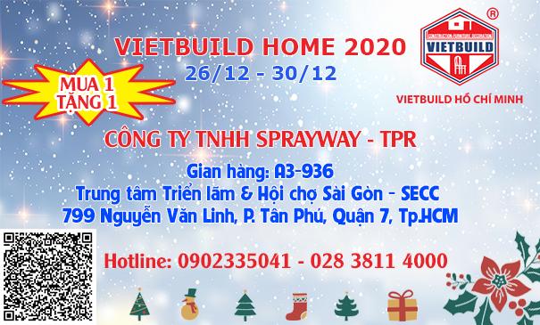 VIETBUILD HOME 2020 - TRIỂN LÃM QUỐC TẾ NHÀ Ở- TRANG TRÍ NỘI NGOẠI THẤT & ĐỒ DÙNG GIA ĐÌNH